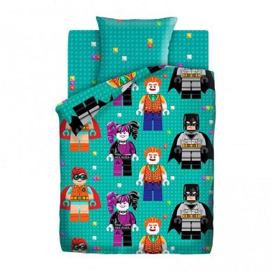 Лего  БЭТМЕН , поплин (ткань с фигурками)