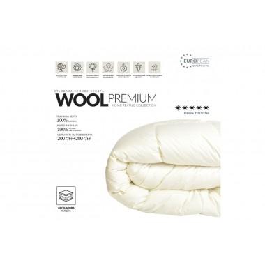 Одеяло зимнее Wool Premium (Овечья шерсть)