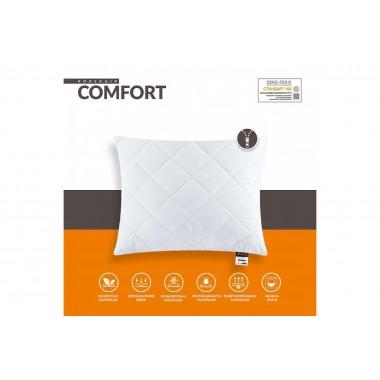 Подушка стеганная Comfort  STANDART+  ( полумягкая)