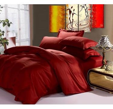 Сатин WINE RED