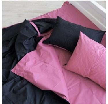 Черный + Пыльный розовый микс