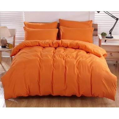 Однотонный Апельсиновый