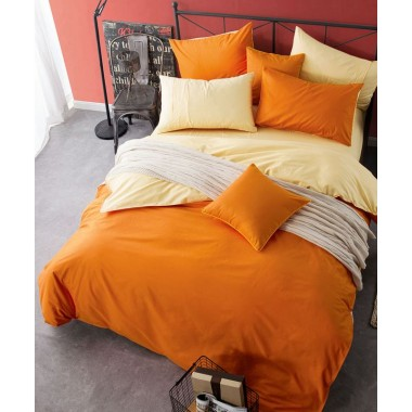 Однотонный Апельсиновый мусс