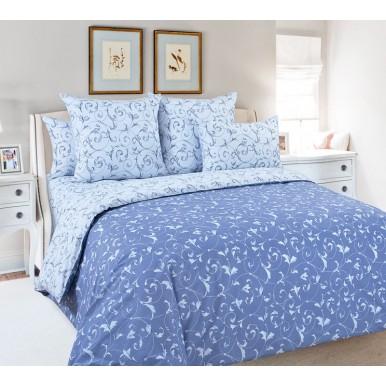 Габриэль синий компаньон  (ткань на наволочках)